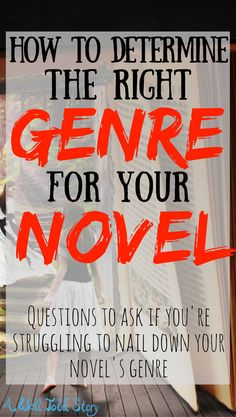 How to Determine the Genre of Your Novel If you want to publish your book or attempt to sell it in any capacity, you need to know your book'sgenre. If you've ever struggled to figure out what type of book you're writing, this post is here to help! Creative Writing Tips, Book Writing Tips, Writing Process, Writing Resources, Blog Writing, Writing Help, Writing Skills, Novel Genres, Writing Genres