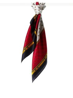 Banana Republic | Chain link silk square scarf