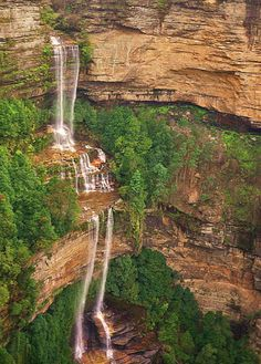 Katoomba Falls, Blue Mountains, New South Wales Perth, Brisbane, Cairns, Sydney Tourist Attractions, Beautiful World, Beautiful Places, Melbourne, Places To Travel, Places To Go