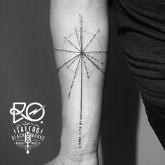 Black Works Tattoo By RO. Robert Pavez • The Pulsar Map • #engraving #dotwork #etching #dot #linework #geometric #ro #ems420 #inks #tattoo #blacktattooing #blackwork #tattrx #blacktattoomag...