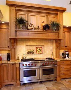 Kitchen hood idea 4 LOVE LOVE LOVE THIS STOVE!!!!!!!!!