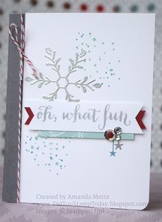 Did You Stamp Today?: How Many Days Until Christmas? - Fab Friday 93 - Stampin' Up! Oh, What Fun