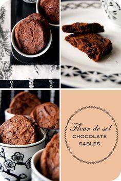 aka dark chocolate shortbread cookies sprinkled with fleur de sel!