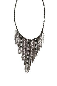 $22.90 Shoptiques — Cascading Jewels Necklace