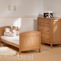Toscana Cotbed - Solid Ash For Sale in Dublin : - DoneDeal. Getting Ready For Baby, Get Ready, Cots For Sale, Dublin, Ash, Toddler Bed, Nursery, Furniture, Home Decor