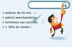 Le 8 septembre, webinar de rentrée : « E-commerçants, optimisez votre moteur de recherche interne pour vendre plus et mieux » avec plein de retours d'expérience concrets et utiles sur le searchandising