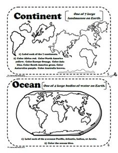 worksheet: Map And Globe Skills Worksheets Free. Map And Globe ...