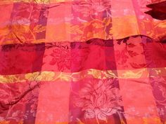 Gorgeous French designer jacquard tablecloth by ALParisTreasures, $30.00