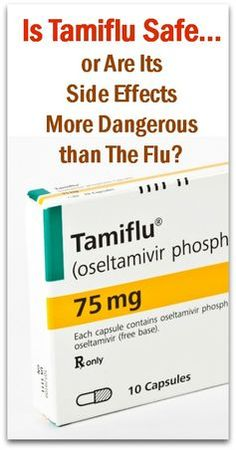 Is Tamiflu Safe... or Are Its Side Effects More Dangerous than The Flu? - Natural Holistic Life #flu #drugs #health #natural #holistic