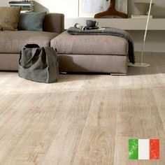 Inspired by natural beech, Woodstyle Beech is a light, warm colour that adds character and style to any room. It comes in a large format plank size that looks and feels like real natural wood.  This tile is made in Italy by one of the world's largest tile producers and is quite simply the best wood effect tile available to buy. The perfect choice for any floor in your home.