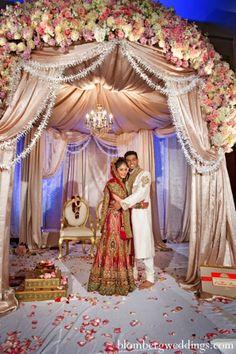 indian wedding bride groom customs ceremony http://maharaniweddings.com/gallery/photo/6540