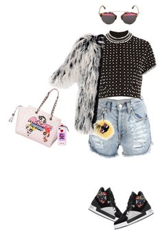 """I mean it.✨"" by priscillasissy ❤ liked on Polyvore featuring Y-3, Christian Dior, Topshop, Moschino, Valfré, Yves Saint Laurent, Fendi, women's clothing, women's fashion and women"