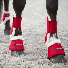A Sneak Peak at spring-summer seasons hot red boots Looking forward to the launch in early March