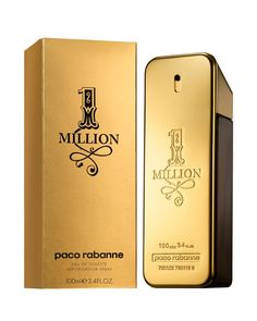 Paco Rabanne 1 Million Eau de Toilette 1.7 oz.1 Million marks the return of asserted masculine seduction. The 1 Million man is flamboyant, daring and uses his charm to play off situations with a touch