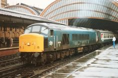 British Rail, Diesel Locomotive, Trains, Shed, Around The Worlds, York, Blue, Lean To Shed, Backyard Sheds