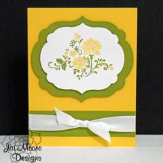All Occasion Vintage Flowers Greeting Card - Handmade - One of a Kind ( OOAK )  by JaiMooreDesigns on Etsy, $2.75