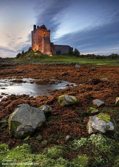 Dunguaire Castle on Galway Bay, Ireland