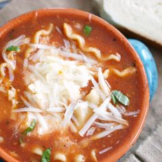 This Lasagna Soup will become your new favorite soup! So delicious!