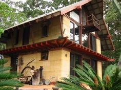 Owner built rammed earth 2-story home pic...