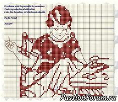 křížkové diagramy. Pro needlewomen a vyšívání.