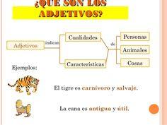 Los Adjetivos Oct 29 - Lessons - TES