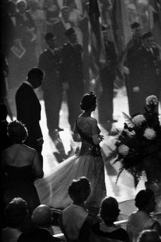 Queen Elizabeth by Burt Glinn, New York, 1957