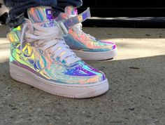 Nike Air Force 1 Id Sens Iridescent