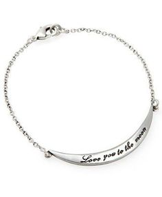 Love you to the Moon Bracelet ♥