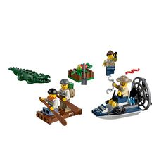 Swamp Police Starter Set - He has this one All Toys, Toys R Us, Lego City, Best Lego Sets, Lego Toys, Starter Set, Books For Boys, Cool Lego, Kids Store