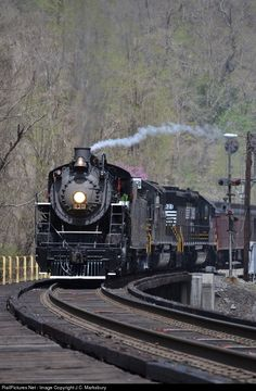 RailPictures.Net Photo: 630 Norfolk Southern Steam 2-8-0 at Grundy, Virginia by J.C. Marksbury