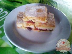 Pudingos meggyes pite Sweet Cookies, French Toast, Cheesecake, Breakfast, Food, Morning Coffee, Cheese Cakes, Eten, Cheesecakes