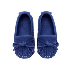 Leather moccasin - Baby boy ZARA