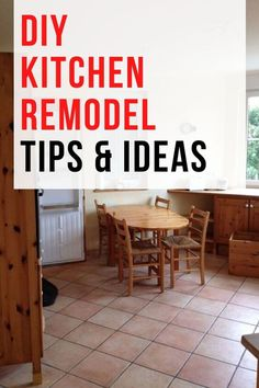 If yoú're thinking of a DIY kitchen remodel project you'll want to make sure you have a plan. Check out these tips for a kitchen renovation to make sure have everything covered in your budget. #diy #kitchen #remodel Average Kitchen Remodel Cost, Kitchen Renovation Cost, Cheap Kitchen Remodel, Diy Projects On A Budget, Diy On A Budget, Home Decor Store, Diy Home Decor, Interior Design And Remodeling, Shaker Style Cabinets
