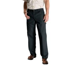 Relaxed Fit 36 in. x 32 in. Duck Dungaree Jean Slate (Grey)