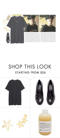 """""""hold me by the heart"""" by junggukies ❤ liked on Polyvore featuring Monki, H&M, Kenneth Jay Lane, Davines and Cartier"""