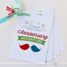 Anniversary Adventure Book - LOVE!!