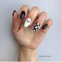 top trendy summer nails art designs ideas to look charming 27 ~ Edgy Nails, Aycrlic Nails, Grunge Nails, Stylish Nails, Nail Manicure, Swag Nails, Summer Acrylic Nails, Pastel Nails, Best Acrylic Nails
