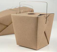 Get takeout boxes for your guests