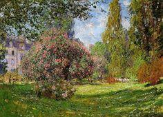 The Park Monceau - Monet