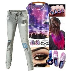 Untitled #168 by katzap on Polyvore featuring Roxy, Keds, Amour and Beats by Dr. Dre