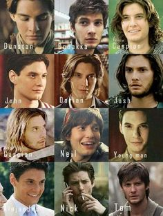 The many faces of Ben Barnes ♡♡