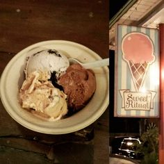 #SweettoothSunday - The amazing #vegan ice cream I had at @sweetritual in #Austin #Texas. Peanut butter cup cookies & cream death metal by chocolate. #sogood #yum #icecream #sweetritual by misschristinemusic