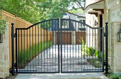 Professional workers and blacksmiths of our prestigious company at Dallas, US are capable of designing wrought iron driveway gates as well that are made for owners of well-off families with larger homes. These types of gates are specially designed for providing security to any kind or type of large property. These gates are also automated in nature. Search http://www.associatedornamental1.com/ or call 972-243-1805 for more details.