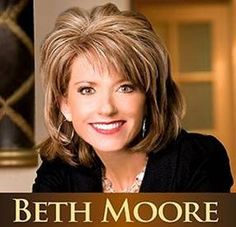Beth Moore. God has used this women to lead me into a deeper love for Him and His word.