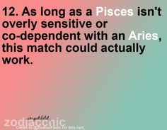 69 Best Pisces and Aries images in 2014 | Pisces, Taurus, Zodiac