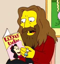 Alan Moore reading Little Lulu