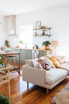Home Interior Scandinavian .Home Interior Scandinavian My Living Room, Living Room Furniture, Living Room Decor, Living Spaces, Wooden Furniture, Furniture Design, Nice Furniture, Business Furniture, Outdoor Furniture