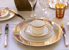 Dress your wedding table in Coast 2 Coast Collection's Bernadaud table setting. Register online today!