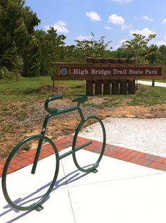 High Bridges & Green Fronts | Young House Love. 31 mile rails to trails path in Farmville, VA