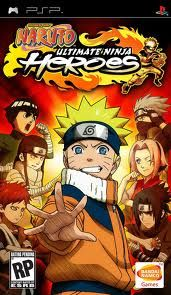 Naruto Ultimate Ninja Heroes on the PSP This game allowed me to play Ultimate Ninja anywhere I went and that was great.